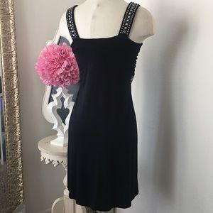 GIRLe Boutique Dresses - 🌺 Faith  Fabulous Black Studded Dress